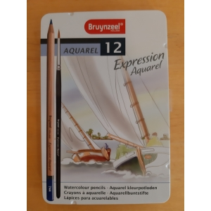 Bruynzeel Expression Aquarel 12 stuks